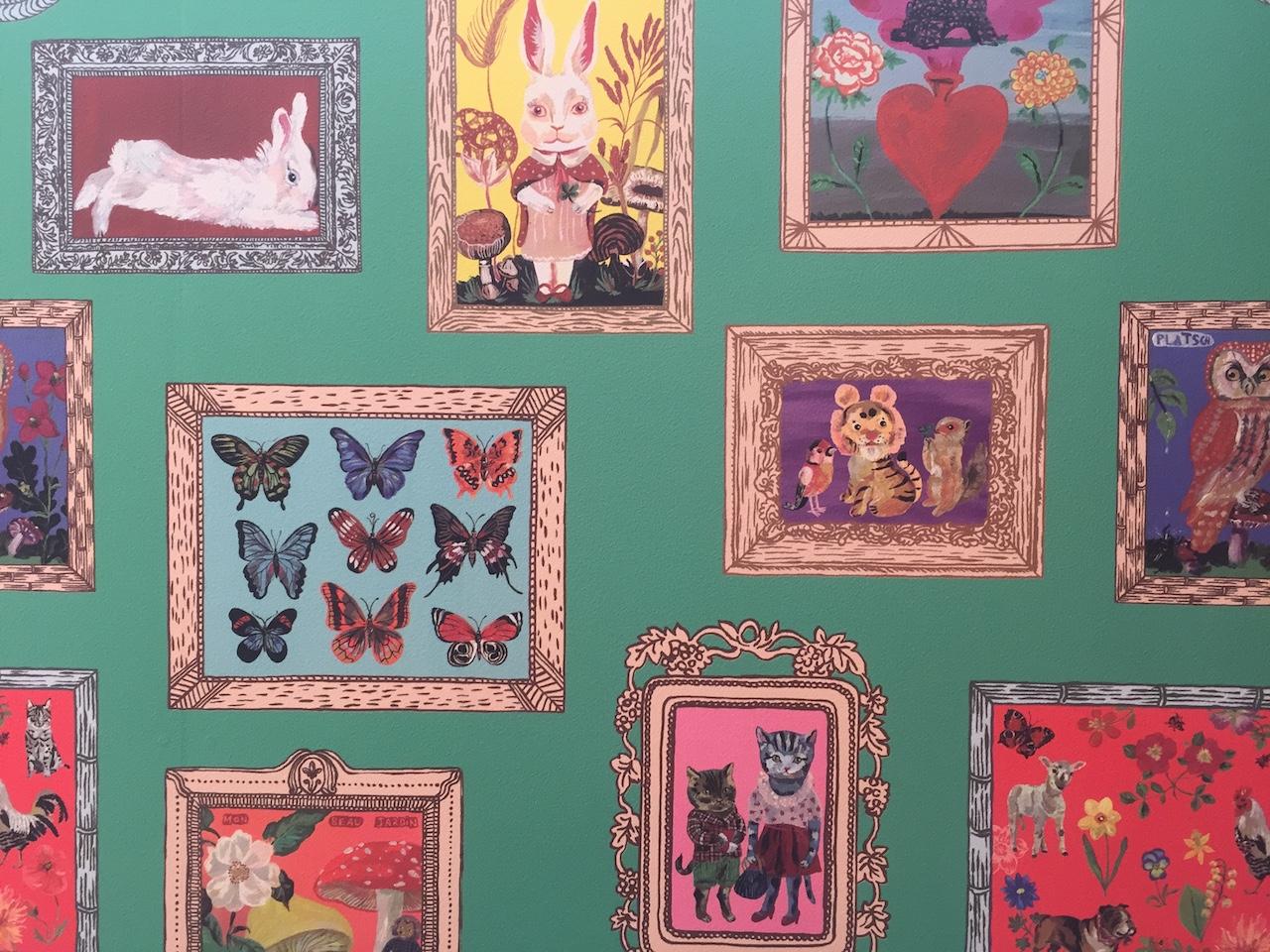 パリの有名アーティストも来店するお店なんです 神戸のハンドメイド